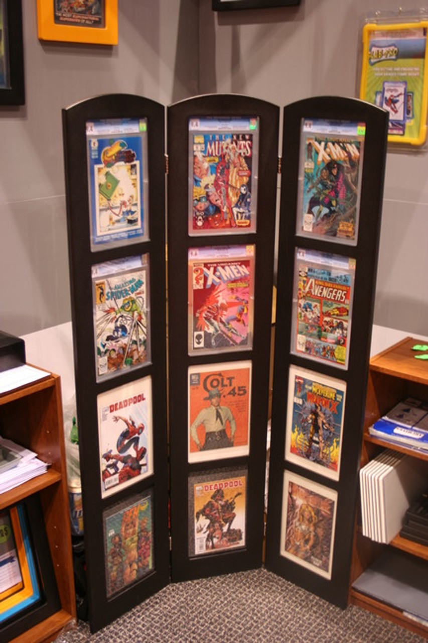 Tri-Fold Graded Comic Book Display, 98% UV Safe Museum Edition by The Collectors Resource