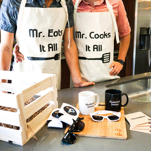 Gay Couple Kitchen Accessories Crate
