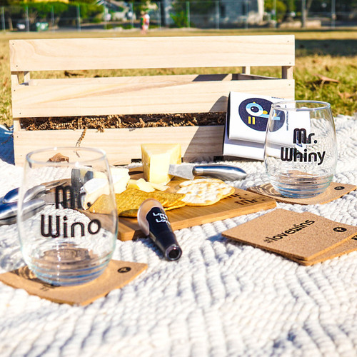 Gay Wedding Wine & Cheese Crate