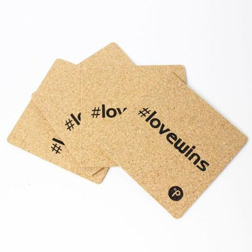 Lovewins Cork Drink Coasters