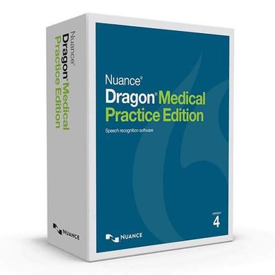 Dragon Medical Practice Edition 4 Box Image
