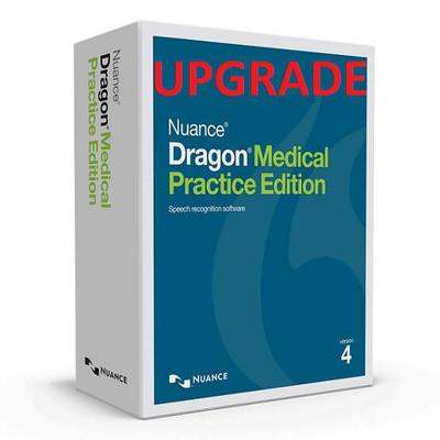 Dragon Medical Practice Edition 4 Upgrade