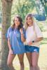 Monogrammed Comfort Colors Pocket Tee | Short Sleeve | Blue Jean