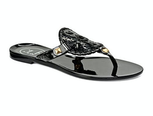 Jack Rogers Black Georgica Jellies