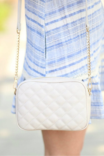 The Lawrence | Quilted Crossbody