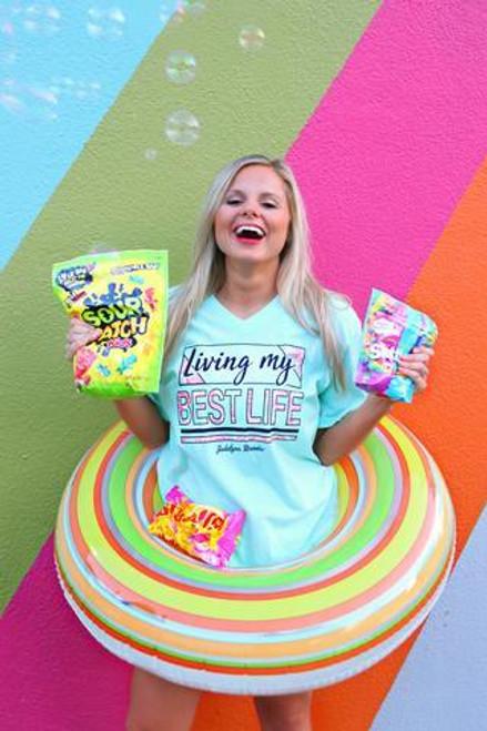 Jadelynn Brooke | Living My Best Life | Heather Sea foam