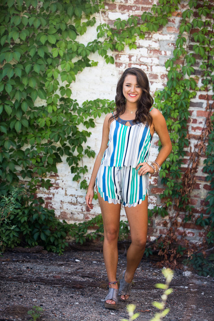 Choose Happy | Stripe Cami