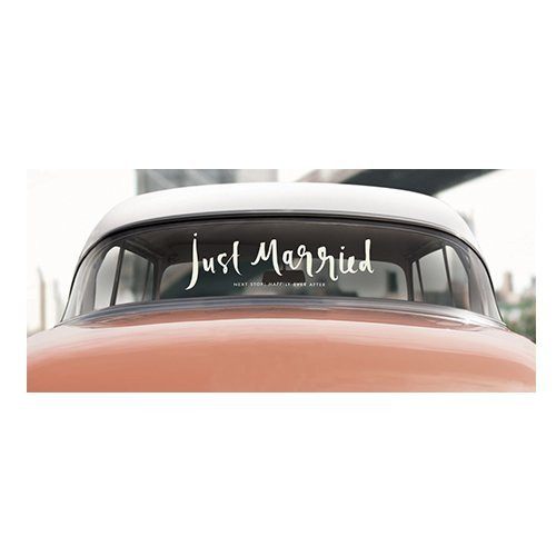 Kate Spade | Car Decal | Just Married