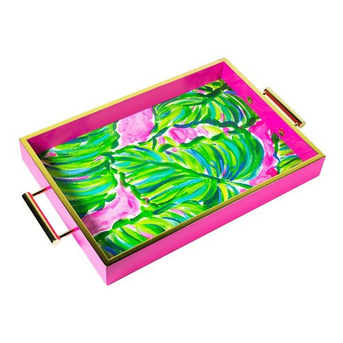 Lilly Pulitzer Hostess Tray | Painted Palm