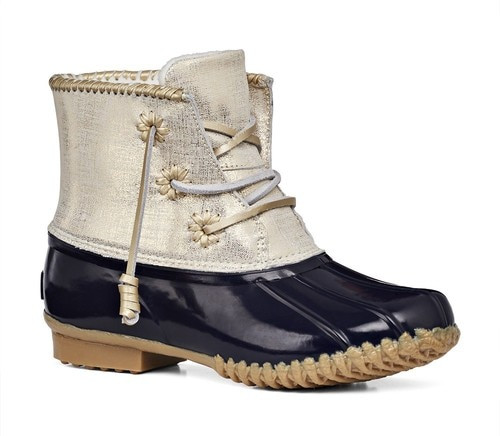Jack Rogers Chloe Boots in Midnight