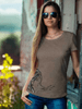 Blowing Bullets womens graphic tee