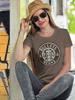 Bullets & Beans Coffee Tee Womens T-Shirt