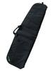 "Black 42"" Soft padded rifle bag front"