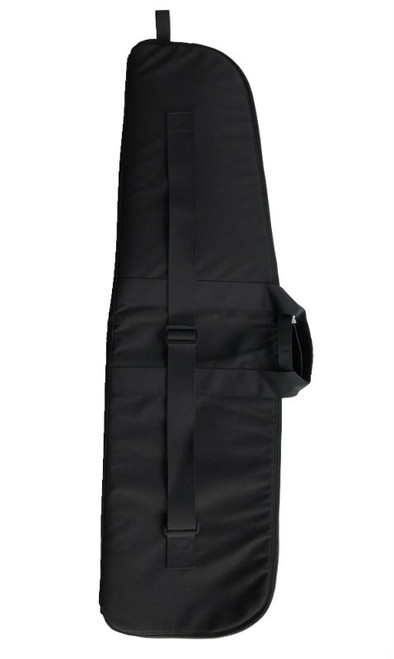 "Black 42"" Soft Padded Rifle Case Back"