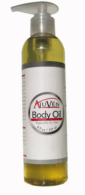 Ajuven Men's Body Oil with Shea Butter