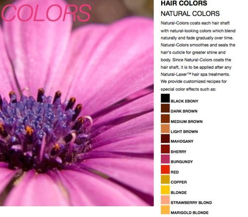Baka Beauty Natural Colors