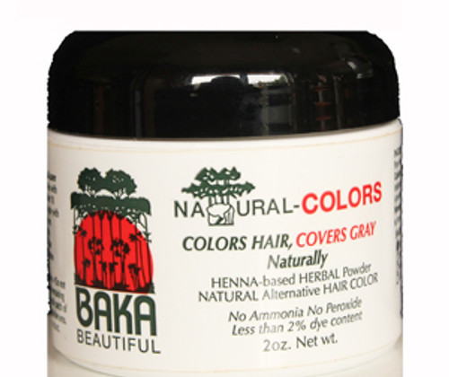 Natural-Colors Henna Hair Color for Gray Coverage