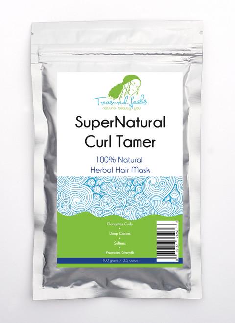 Treasured Locks SuperNatural Curl Tamer Herbal Hair Mask