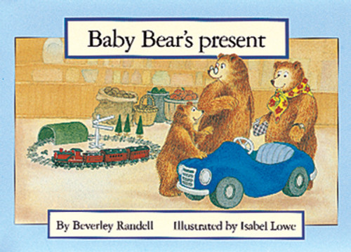 PM Library Blue Baby Bear's Present Lvl 9