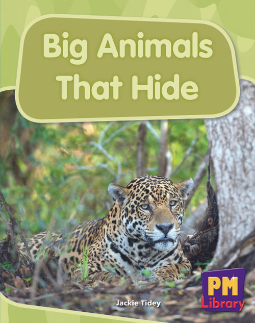New PM Library Blue Big Animals that Hide Lvl 11-12