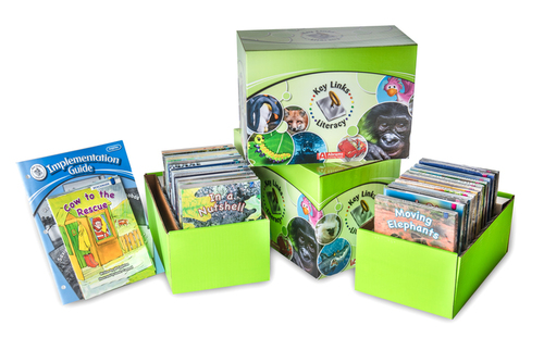 Key Links Literacy Blue Classroom Set