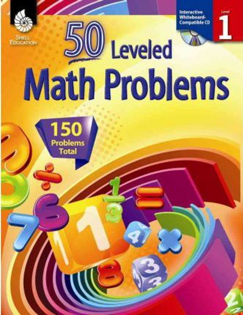 50 Leveled Math Problems, Level 1